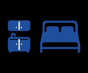 1 cama full + kitchenette (maximo 2 personas)