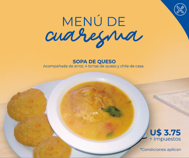 Exquisita Sopa de Queso en Hotel Mansión Teodolinda